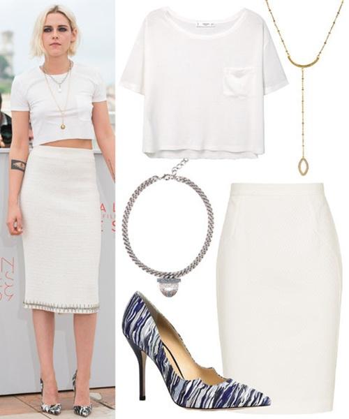 Học sao Hollywood mặc phông trắng đi dự tiệc - 2