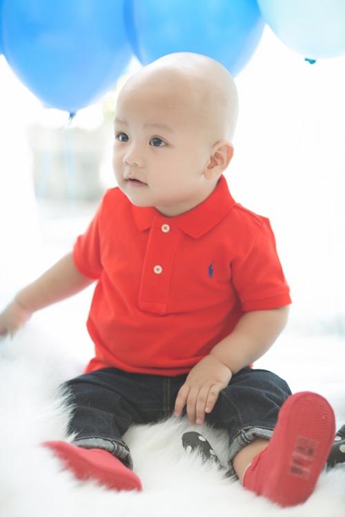 Cậu út nhà Kiwi Ngô Mai Trang bụ bẫm tròn 1 tuổi - 5