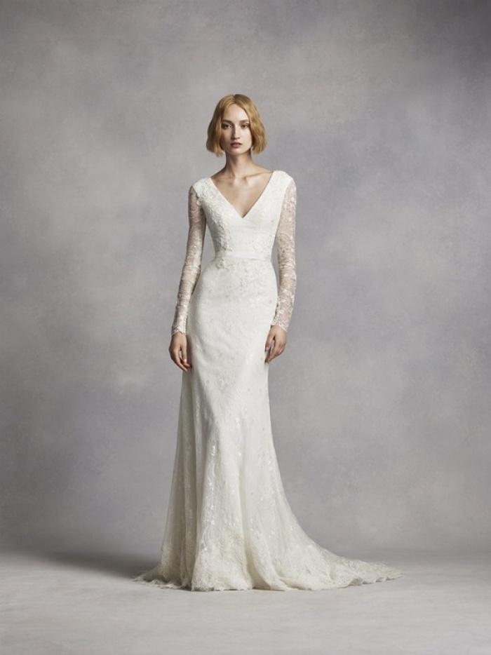 Váy cưới 2016: Xu hướng cổ điển lên ngôi